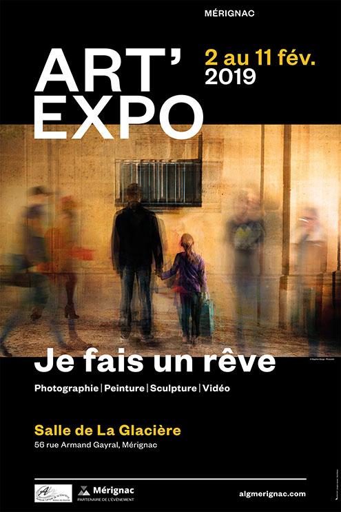 Affiche Expo Mérignac Glaciere