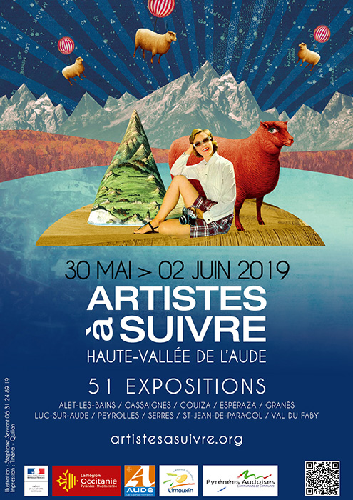 Affiche Expo Artistes a suivre