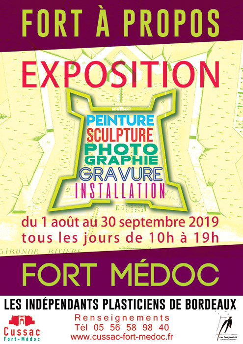 Affiche Expo Fort Medoc
